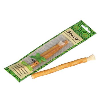 Prírodná zubná kefka - Siwak - Mäta (Mint)