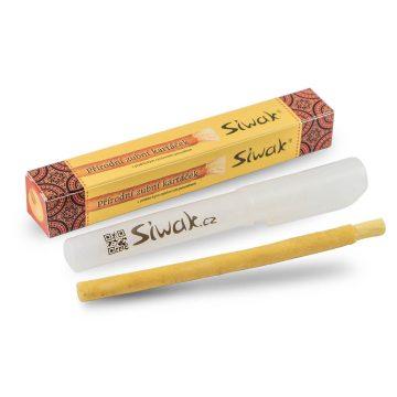 Prírodná zubná kefka - Siwak - Natural + púzdro